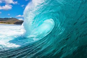 Фотография Волны Вода Вблизи Океан Природа