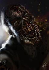 Картинки Зомби Чудовище Крик