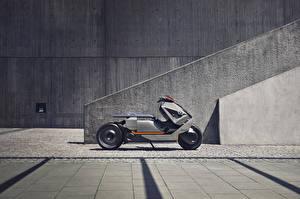 Фотографии БМВ Сбоку 2017 Motorrad Concept