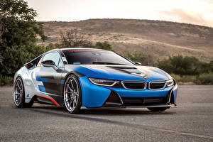 Фотографии BMW Тюнинг 2016 Vorsteiner i8 VR-E авто