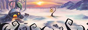 Картинка Фантастический мир Снег Фантастика