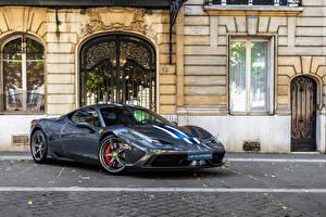 Фотографии Ferrari Тюнинг Pininfarina Металлик 2013-15 458 Speciale Worldwide Автомобили