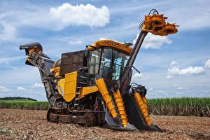 Обои Поля Harvester 2015-17 Valtra BE 1035e