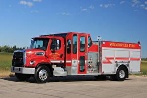 Фотография Пожарный автомобиль 2017 Freightliner Business Class M2 108 Full Framed 4 Машины