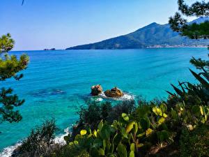 Картинка Греция Море Thassos Природа