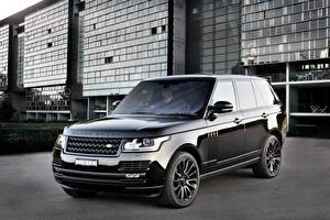 Обои Land Rover Черная Металлик Vogue машины