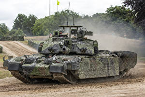 Картинка Танки Камуфляж Британский Challenger 2 Армия