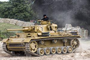 Фотографии Танки Немецкий Pz.Kpfw. III Ausf. L