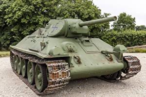 Картинки Танки Т-34 Русские Captured Армия
