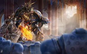 Фото Warhammer 40000 Воители Броня Мечи Guilliman, Lord of Ultramar Фэнтези