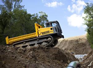 Фотографии Земля Желтый 2012-17 Terramac RT9 Crawler Carriers