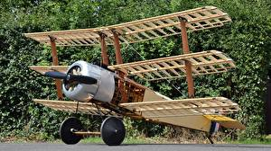 Фотография Самолеты Деревянный 140 Sopwith Triplane Авиация