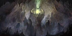 Обои Ангелы Пещера