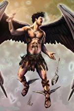 Фото Ангелы Мужчины Крылья
