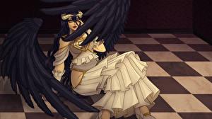Картинки Ангелы Крылья Девушки