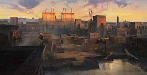 Фотография Assassin's Creed Origins Египет Воины