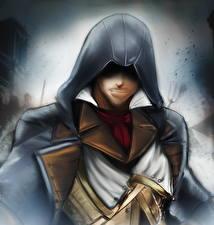 Фото Assassin's Creed Unity Мужчины Капюшон Arno Dorian