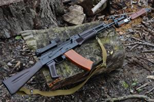 Обои Автоматы AK 74