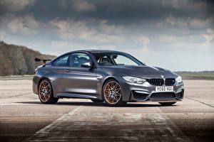 Картинка BMW Серебристый GTS, F82 Автомобили