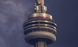 Фотография Вблизи Канада Башня CN Tower Toronto