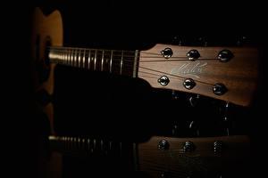 Картинка Вблизи Гитара