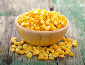 Обои Кукуруза Много Доски Зерна Пища