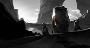 Фотография Фантастический мир Камень Фэнтези