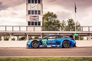 Фотография Лексус Тюнинг Сбоку Металлик 2014-17 RC F GT3 Автомобили
