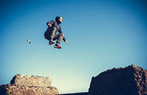 Фото Мужчины Прыжок