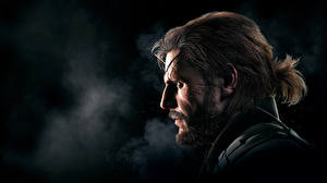 Картинки Мужчины Metal Gear Голова Solid V: Ground Zeroes Konami