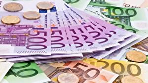 Фотографии Деньги Купюры Евро 500