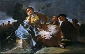 Фото Картина Francisco Goya, The Date