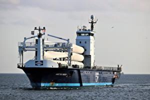 Обои Корабли Море ARCTIC ROCK