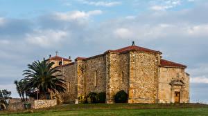 Фото Испания Храмы Из камня Cantabria Города