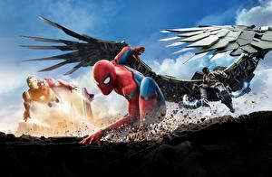 Обои Человек паук герой Spider-Man: Homecoming