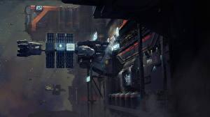 Фото Star Citizen Фантастическая техника Корабль Игры Фэнтези Космос