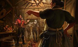 Фотографии Ведьмак 3: Дикая Охота Мужчины
