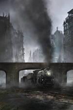 Фотографии Поезда Конец света