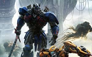 Фото Трансформеры: Последний рыцарь Мечи Optimus Prime