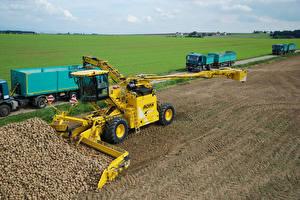 Обои Грузовики Поля Сельскохозяйственная техника 2010-14 ROPA euro-Maus 4