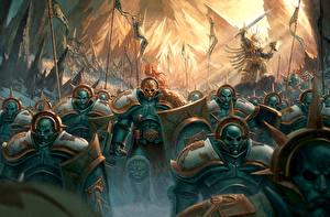 Картинка Warhammer 40000 Воины Фэнтези