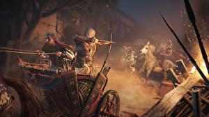 Фотография Воины Лучники Assassin's Creed Origins 3D_Графика