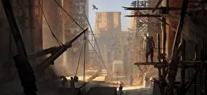 Обои Воители Лучники Египет Assassin's Creed Origins компьютерная игра