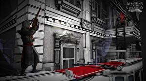 Картинки Воители Снайперская винтовка Assassin's Creed Chronicles Russia