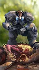 Фото Воин StarCraft 2 Доспехи CoCa Фэнтези