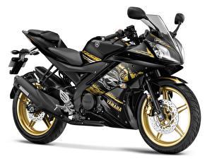 Фотографии Yamaha Белый фон 2014 YZF-R15  Special Edition Мотоциклы