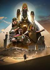 Фотографии Assassin's Creed Origins Воители Египет Игры
