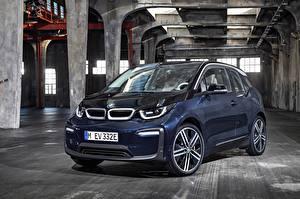 Фотография BMW Синий 2017 i3 Worldwide Автомобили
