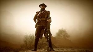 Фото Battlefield 1 Солдаты Пулеметы Британский Игры