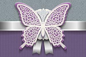 Обои Бабочки Вблизи Векторная графика